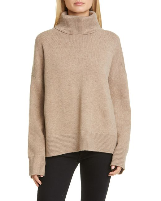 Co. Multicolor Bell Sleeve Wool & Cashmere Sweater