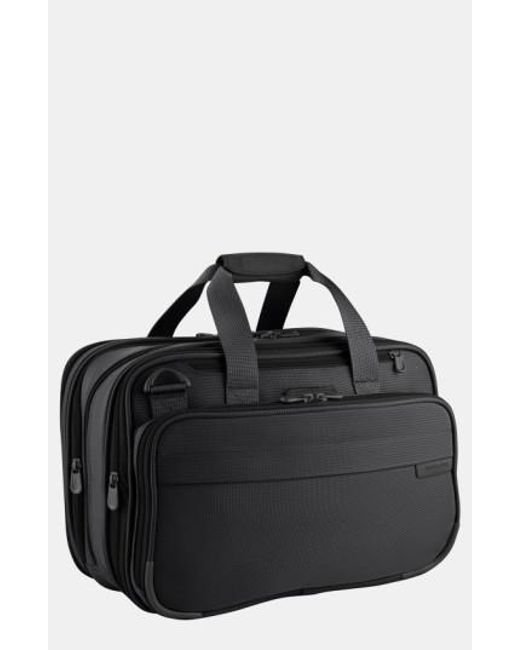 Briggs & Riley | Black Expandable Cabin Bag for Men | Lyst