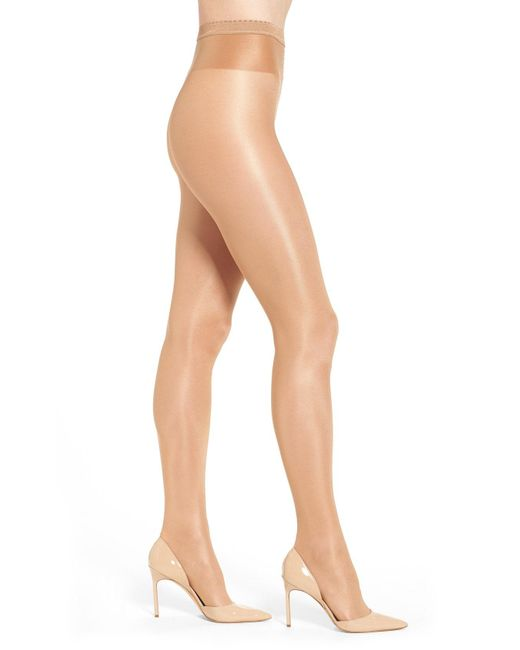 Wolford - Natural 'neon 40' Pantyhose - Lyst
