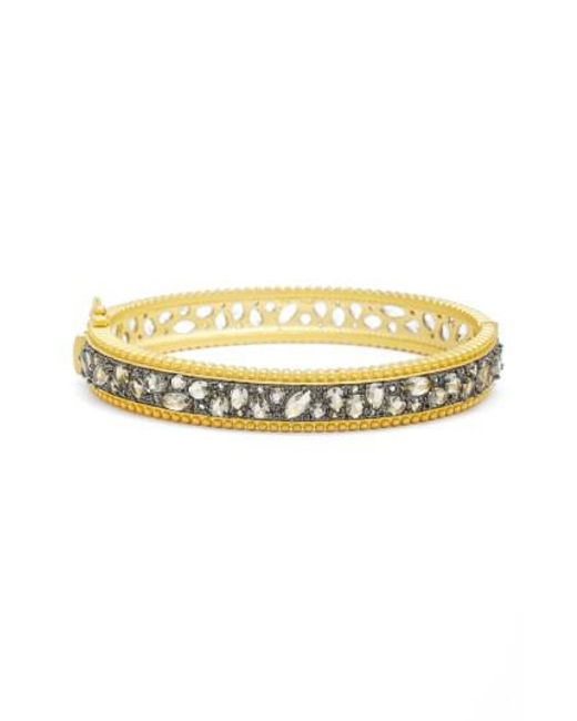 Freida Rothman Pave Wings Bangle FKkZ92TJG