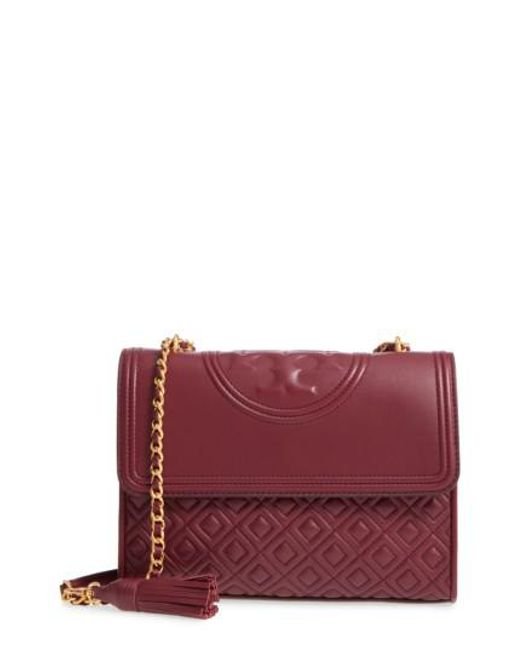 Tory Burch | Multicolor Fleming Quilted Lambskin Leather Convertible Shoulder Bag | Lyst