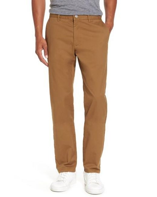 Bonobos | Natural Slim Fit Stretch Washed Chinos for Men | Lyst