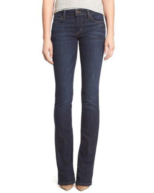 Joe's - Blue Curvy Bootcut Jeans - Lyst