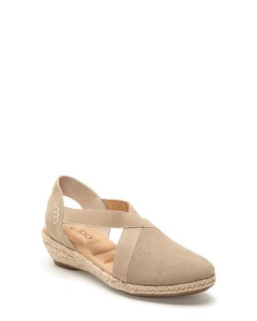 Me Too   Natural Nissa Espadrille Wedge   Lyst