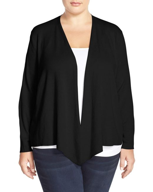 NIC+ZOE Black 4-way Convertible Cardigan
