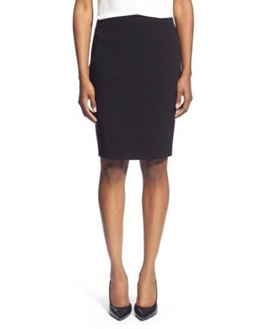 T Tahari   Black Suit Skirt   Lyst