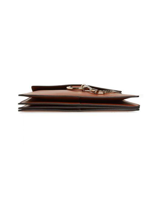 7d83c9d5c2 Chloé Chloé 'faye' Leather & Suede Shoulder Bag in Brown - Lyst