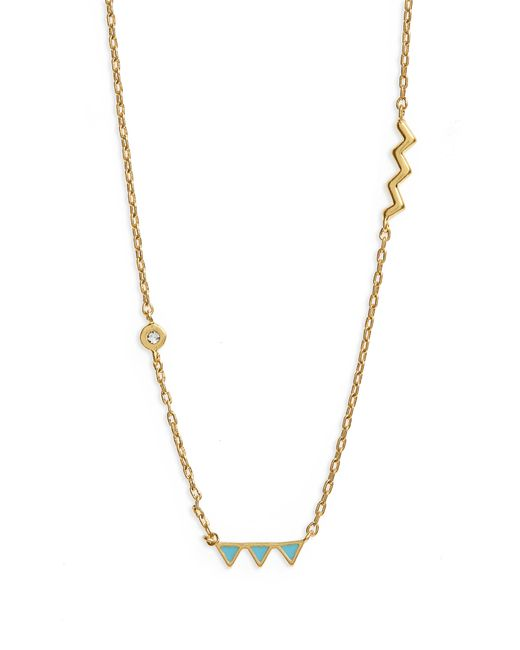 Madewell - Metallic Two-piece Necklace Set - Lyst