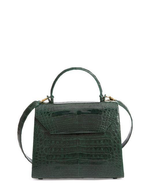 Nancy Gonzalez - Blue Medium Lily Genuine Crocodile Crossbody Bag - Lyst