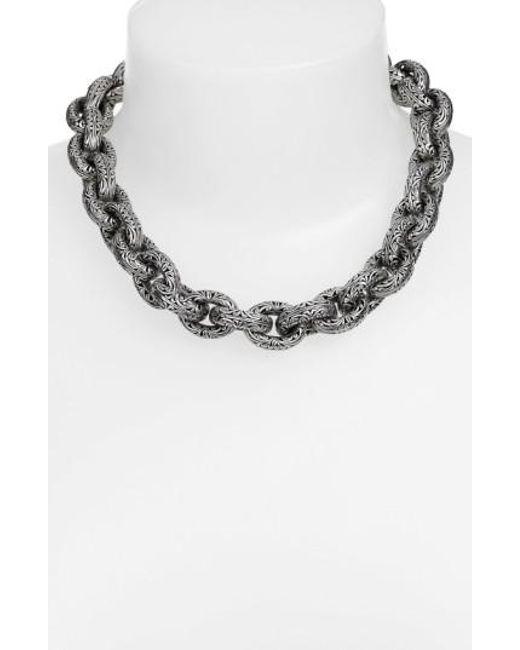 Konstantino | Metallic 'classics' Link Collar Necklace | Lyst