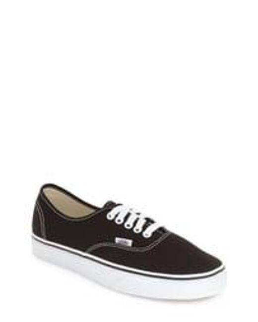 Vans White Authentic Sneaker for men