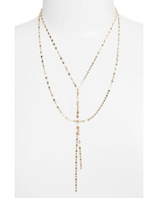 Lana Jewelry | Metallic 'mega Blake' Lariat Necklace | Lyst