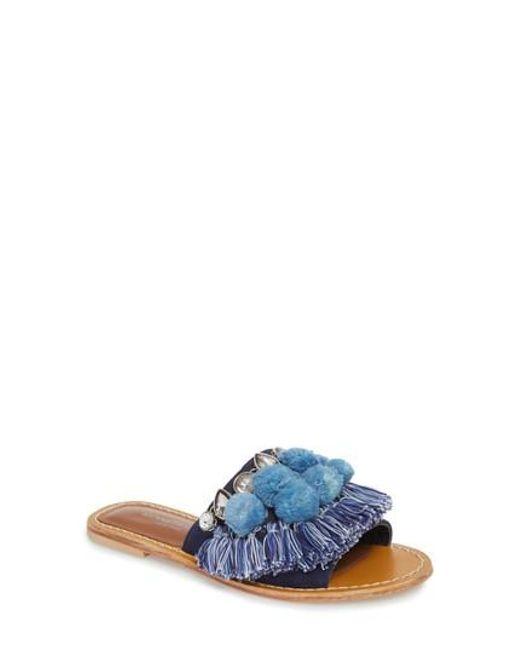 Kenneth Cole - Multicolor Osmond Slide Sandal - Lyst