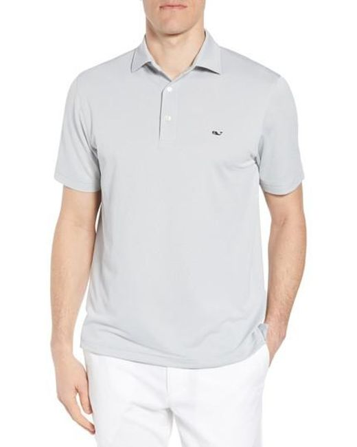 Vineyard Vines - Multicolor Tempo Regular Fit Sankaty Performance Pique Polo for Men - Lyst