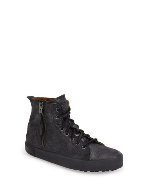 Blackstone | Black 'jl' High Top Sneaker | Lyst