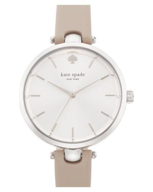 Kate Spade | Gray 'holland' Round Watch | Lyst