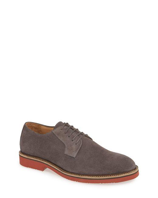 1901 Brown Tucker Plain Toe Derby for men