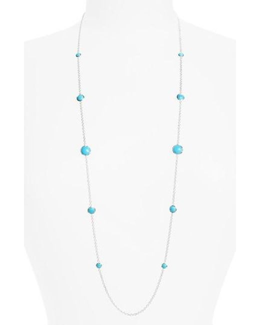 Ippolita | Blue 'rock Candy - Lollipop' Long Necklace | Lyst
