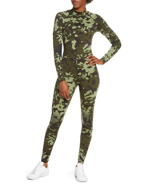Nike Green X Mmw Womens Bodysuit