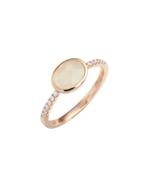 Bony Levy   Metallic Iris Semiprecious Stone & Diamond Ring (nordstrom Exclusive)   Lyst