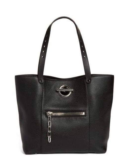 Alexander Wang - Black Riot Matte Leather Tote - Lyst