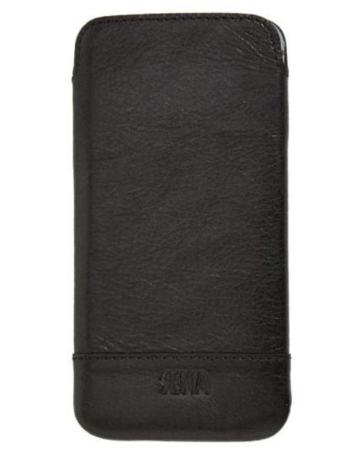 Sena | Black Heritage Ultra Slim Leather Iphone 6/6s Case | Lyst