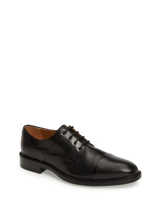 Cole Haan Black Warren Cap Toe Derby for men