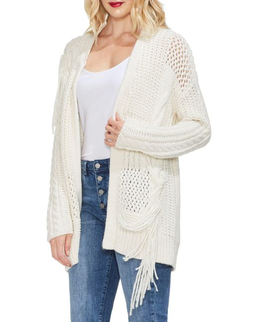 Vince Camuto White Cardigan