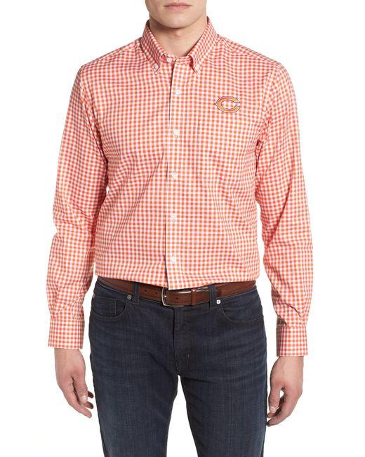 Cutter & Buck - Pink League Chicago Bears Regular Fit Shirt for Men - Lyst