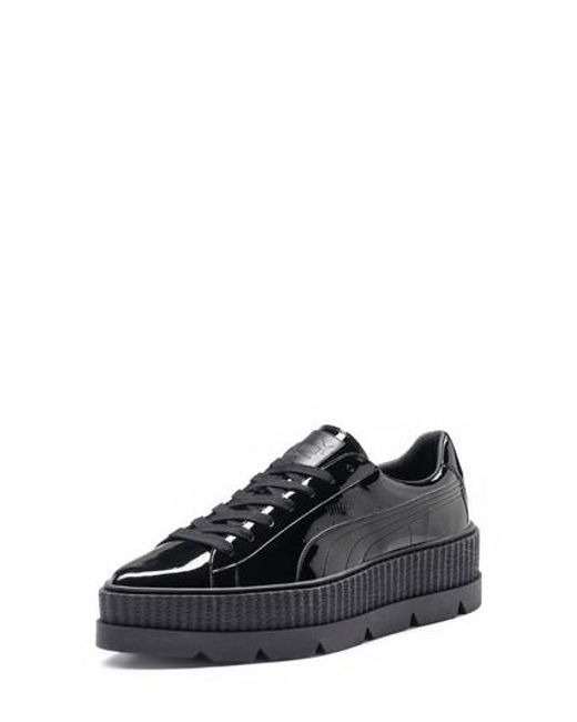 PUMA - Black Fenty By Rihanna Pointy Toe Creeper Sneaker - Lyst