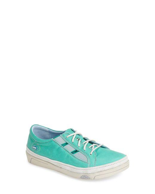 Cloud - Green 'amazonas' Leather Sneaker - Lyst