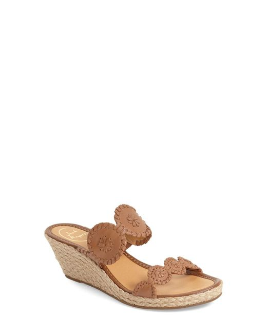 Jack Rogers - Multicolor Shelby Wedge Sandal - Lyst