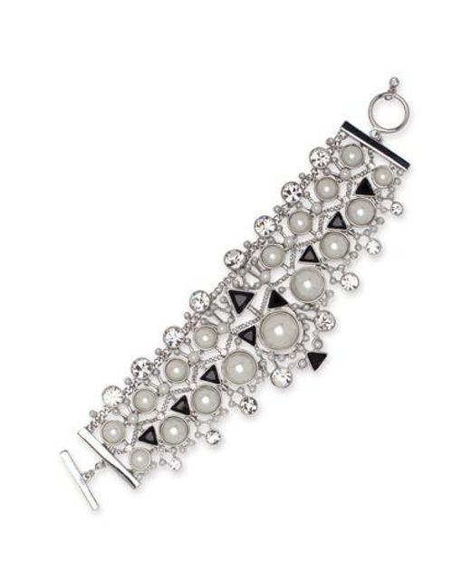 Givenchy   Metallic Chelsea Drama Crystal Flex Bracelet   Lyst