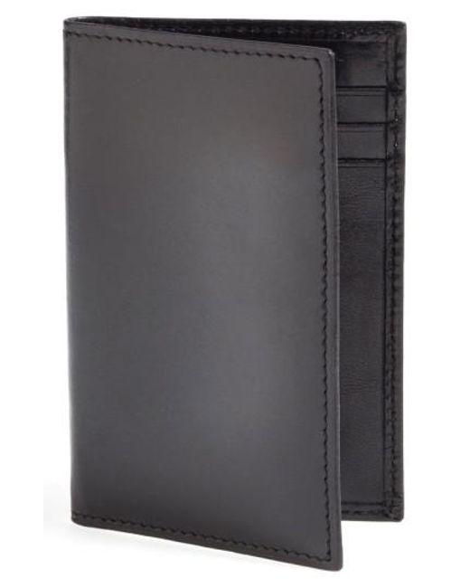 Bosca | Black 'old Leather' Card Case for Men | Lyst