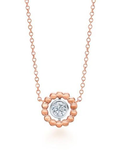 Kwiat - Metallic Dia Bead Diamond Pendant Necklace - Lyst