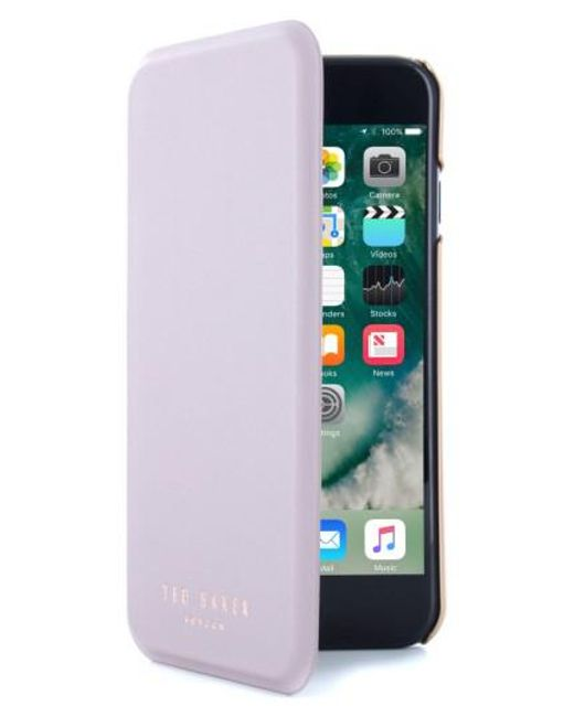 Ted Baker | Shannon Iphone 7 & 7 Plus Mirror Folio Case - Purple | Lyst