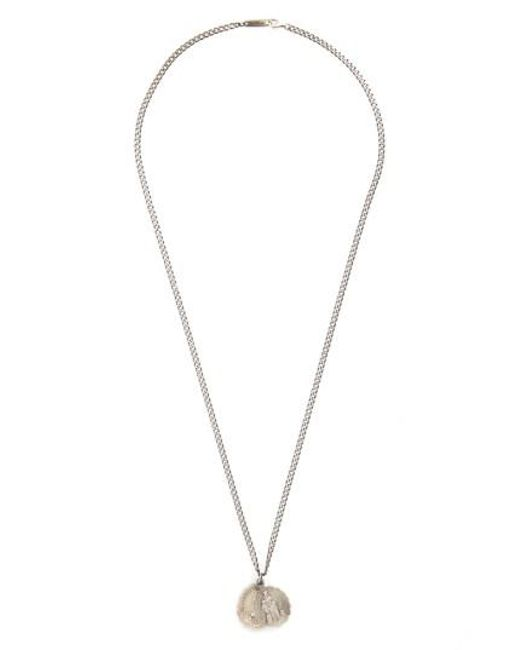 Miansai - Metallic 'saints' Pendant Necklace for Men - Lyst
