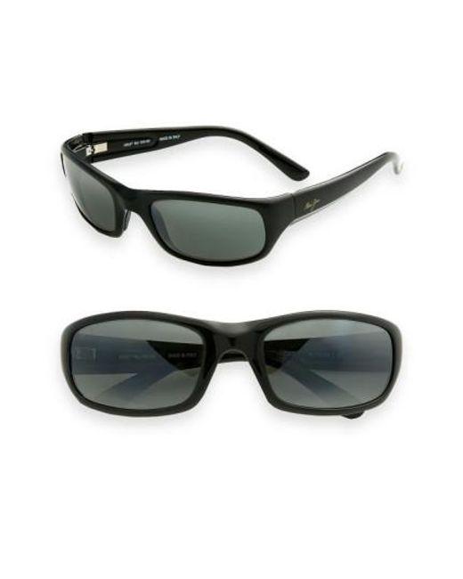 Maui Jim | Black 'stingray - Polarizedplus2' 56mm Sunglasses for Men | Lyst