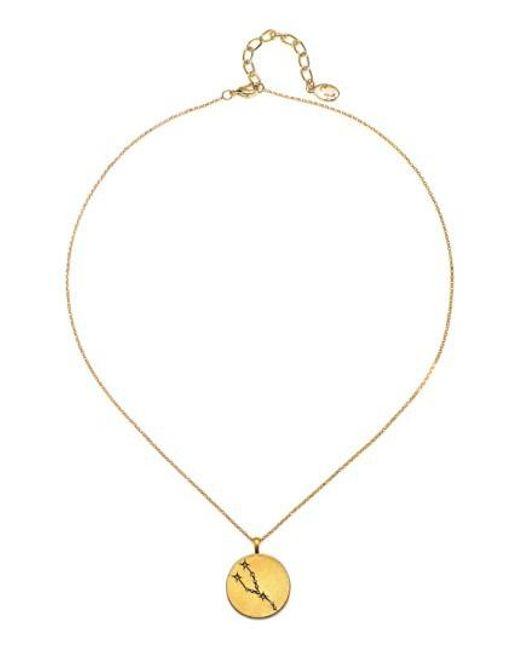 Sequin   Metallic Celestial Pendant Necklace   Lyst