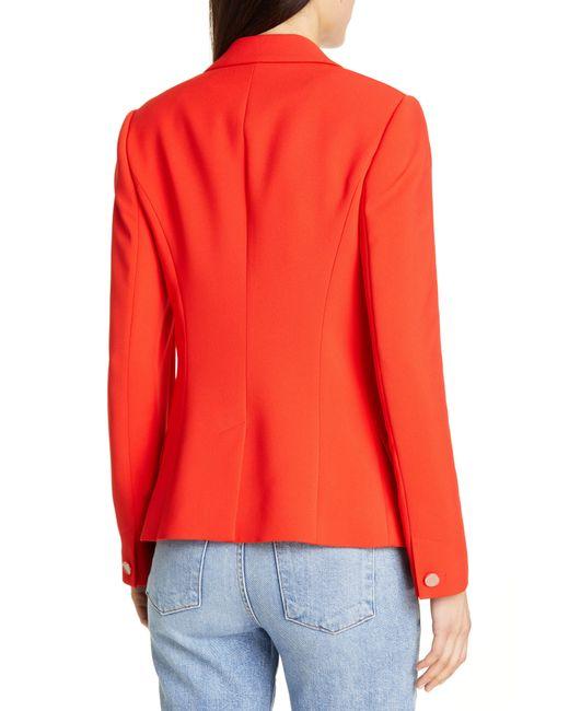 5af340e7bae2 ... Ted Baker - Orange Anita Angular Jacket - Lyst