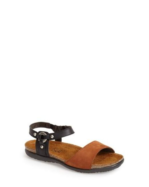 Naot | Black 'sabrina' Sandal | Lyst