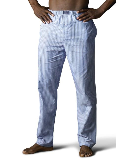 Polo Ralph Lauren Blue Pajama Pants for men