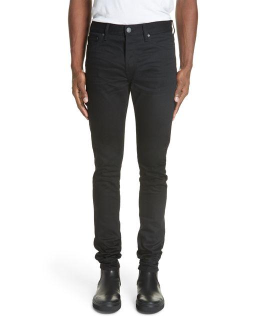 John Elliott Black The Cast 2 Slim Fit Jeans for men