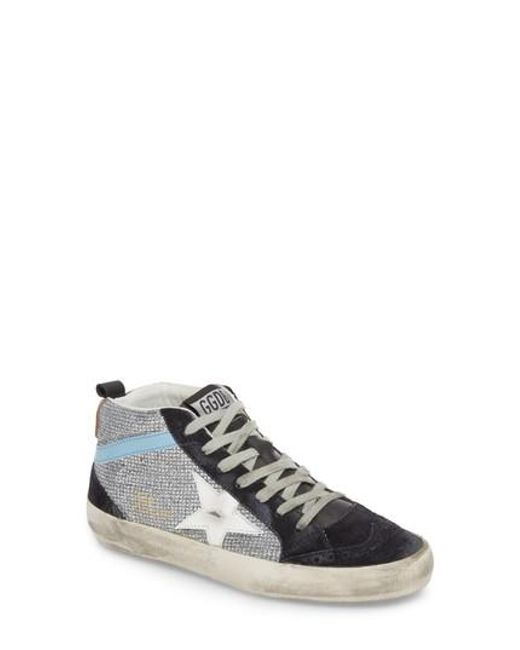 26519a85b260 Golden Goose Deluxe Brand - White Mid Star Lace-up Sneaker for Men - Lyst