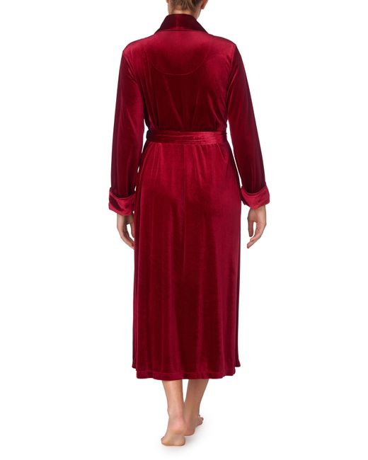 Lauren by Ralph Lauren Red Long Robe