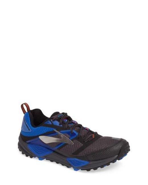 Brooks | Blue Cascadia 12 Trail Running Shoe for Men | Lyst