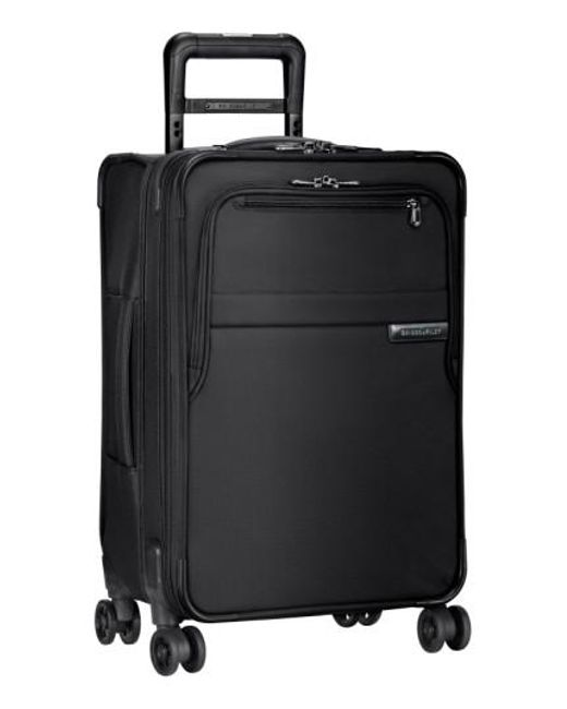 Briggs & Riley   Black 'baseline' Domestic Expandable Rolling Carry-on for Men   Lyst