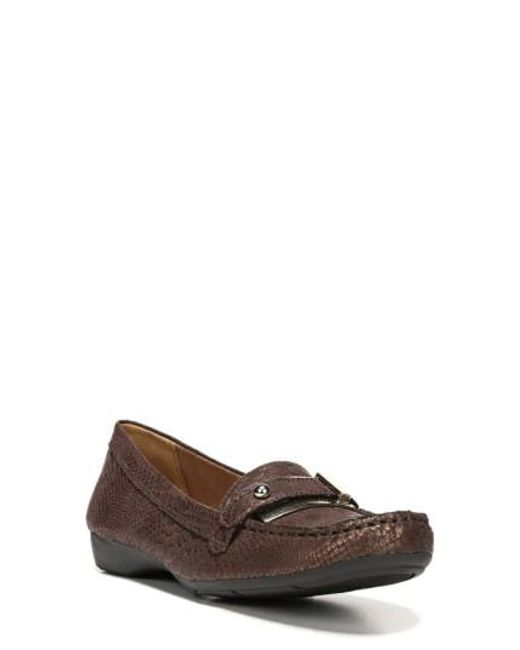 Naturalizer - Brown 'gisella' Loafer - Lyst
