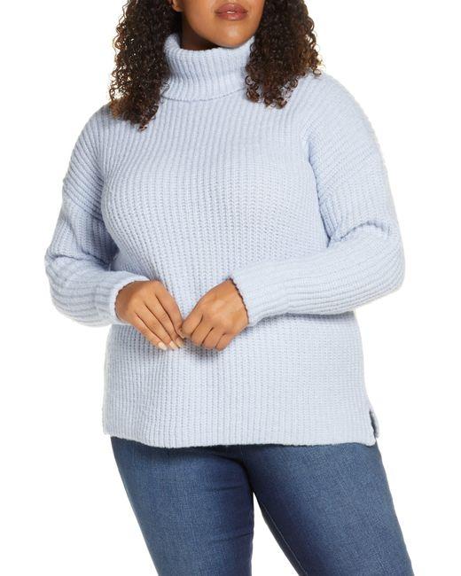 Caslon Blue Caslon Turtleneck Sweater
