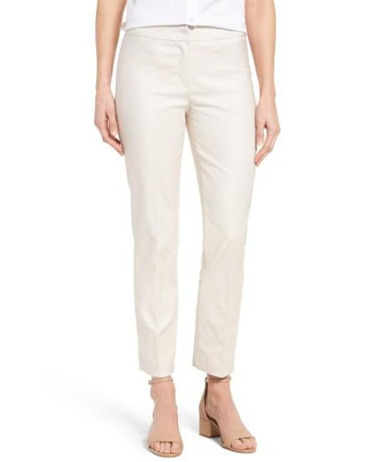 NIC+ZOE | Natural The Perfect Ankle Pants | Lyst